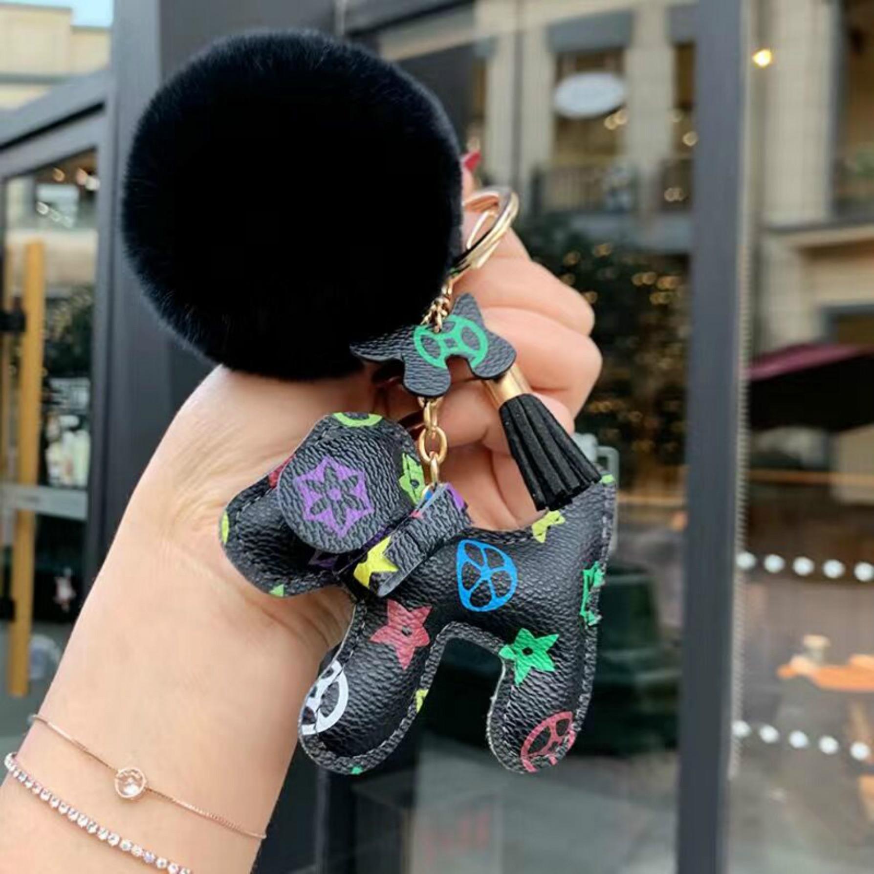 Новое прибытие моды форме сердца Имитация меха кролика шарика ключевой цепи шарика Mobile Phone212