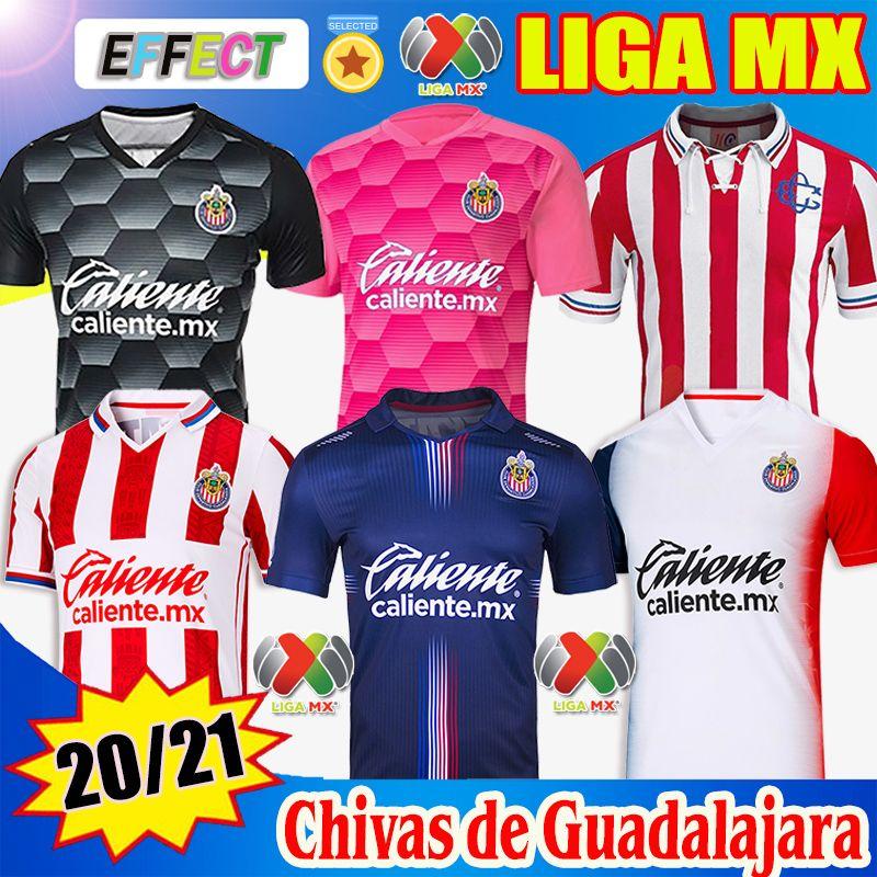 2021 2122 Chivas Guadalajara 115th Year Home Away Third Soccer Jerseys 20 21 Donne Kids Camiseta de Futbol Jersey Kit Esports Camicie da calcio