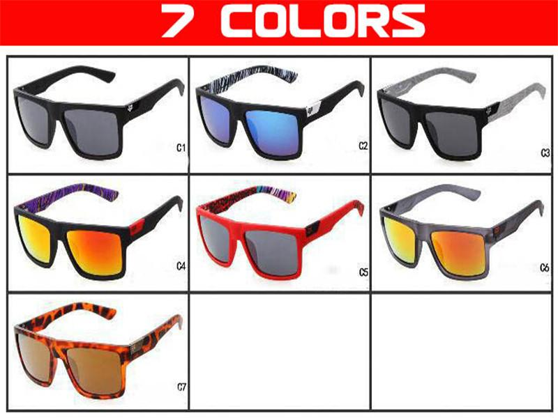 7 Renk Spor Güneş Danx Sıcak Satış Sürüş Gözlükler Yansıtıcı Lensler İçinde Tapınaklar Baskı Toptan Güneş Gözlükleri