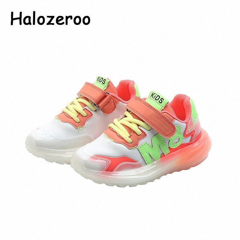 Sonbahar Çocuk Spor Sneakers Bebek Kız Beyaz Marka Ayakkabı Çocuk Spor Sneakers Bebek Kız Mesh Chunky Eğitmenler Yeni McOH #