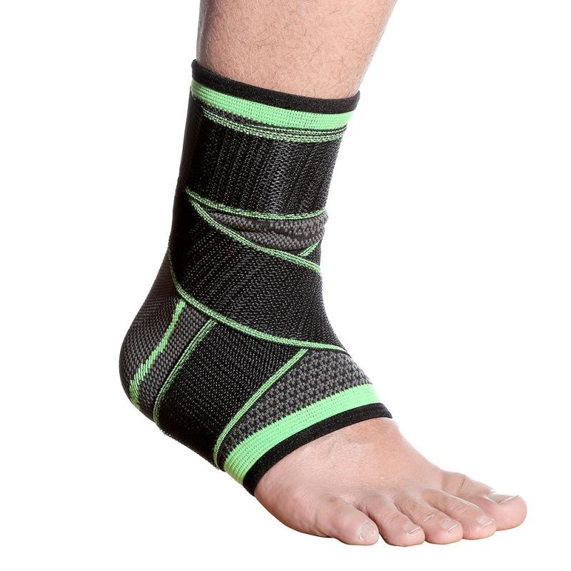 1pcs Men Sports Ankle Brace Strap Elastic Knitted for Cycling Yoga Basketball Volleyball Foot Joint Ankle Protector