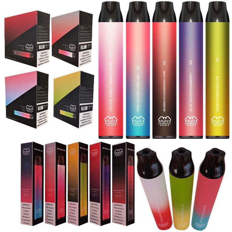 OEM одноразовый Vape Pen 7 мл POD System Electronic Cigarettes одноразовый Vape оригинал 2000 слойки 850 мАч слойки двойные стручки предварительно заполнены