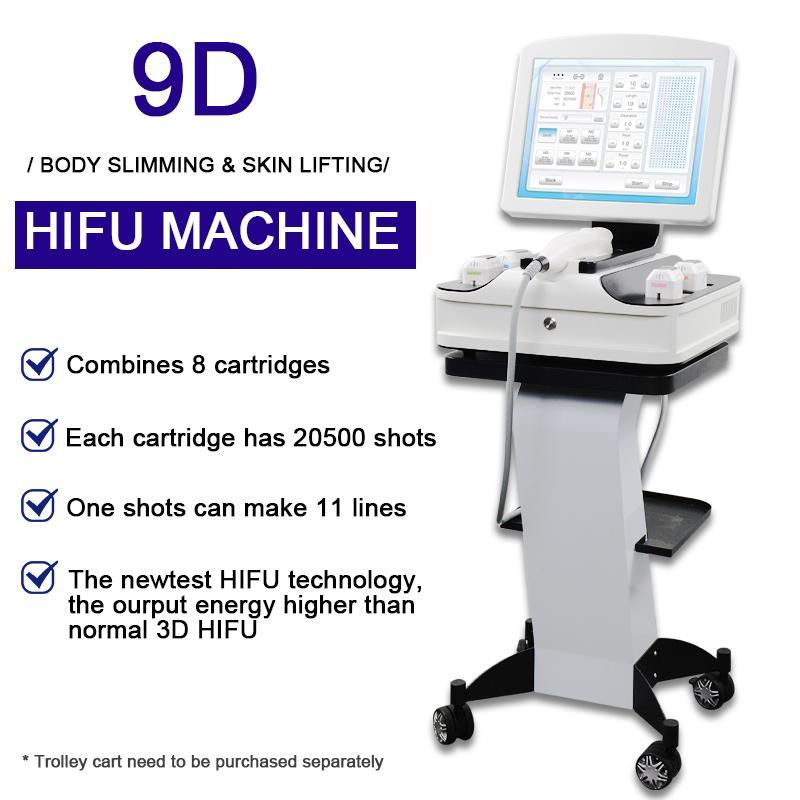 3D HIFU Yüz Germe Kırışıklık Temizleme Makinesi Yeni 3D 4D HIFU Ultra Terapi Cilt Sıkılaştırma HIFU Yüz Kaldırma Cihazı