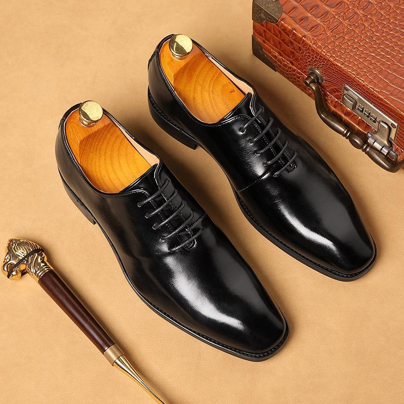 Plus Size 38-48 Männer Hochzeit Kleid-Schuhe 2020 Qualitäts-Mann Oxford Schuhe Business Designer Social Männer Loafers