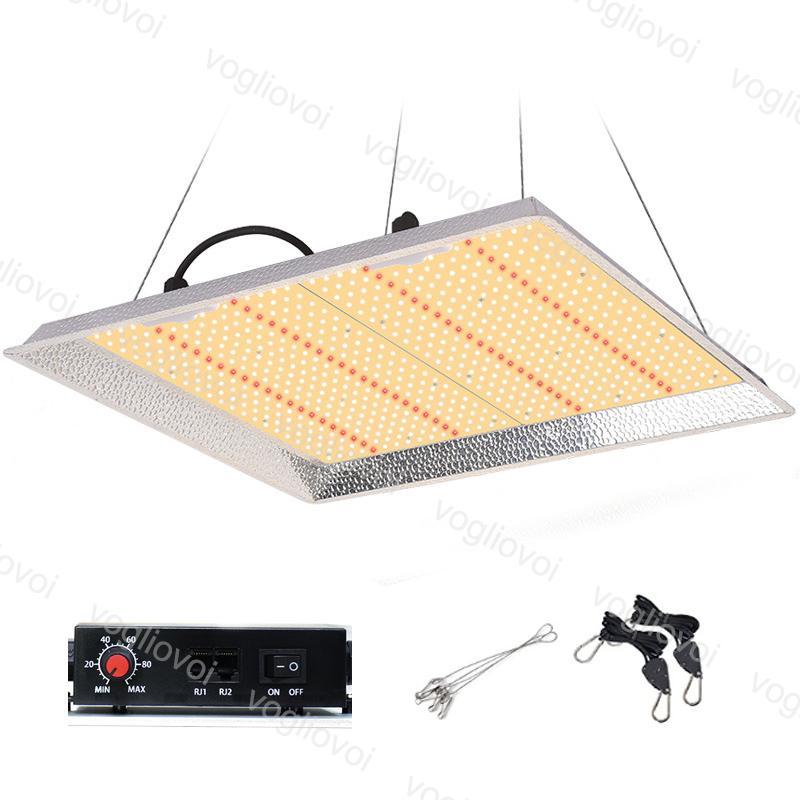 LED Grow Lights 100W / 150W / 300W / 450W Dimmenfüllung Vollspektrum Smart Remote Control Treibhaus-Anpflanzung Ersetzen Sie HPS / HID-Hydroponics DHL