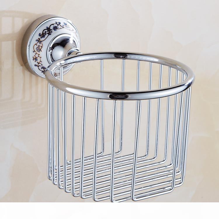 European prata cristal banheiro conjunto de hardware cromo acabamento cerâmico placa de banho acessórios de banheiro pendurado terno ax09 bbygtg mj_bag