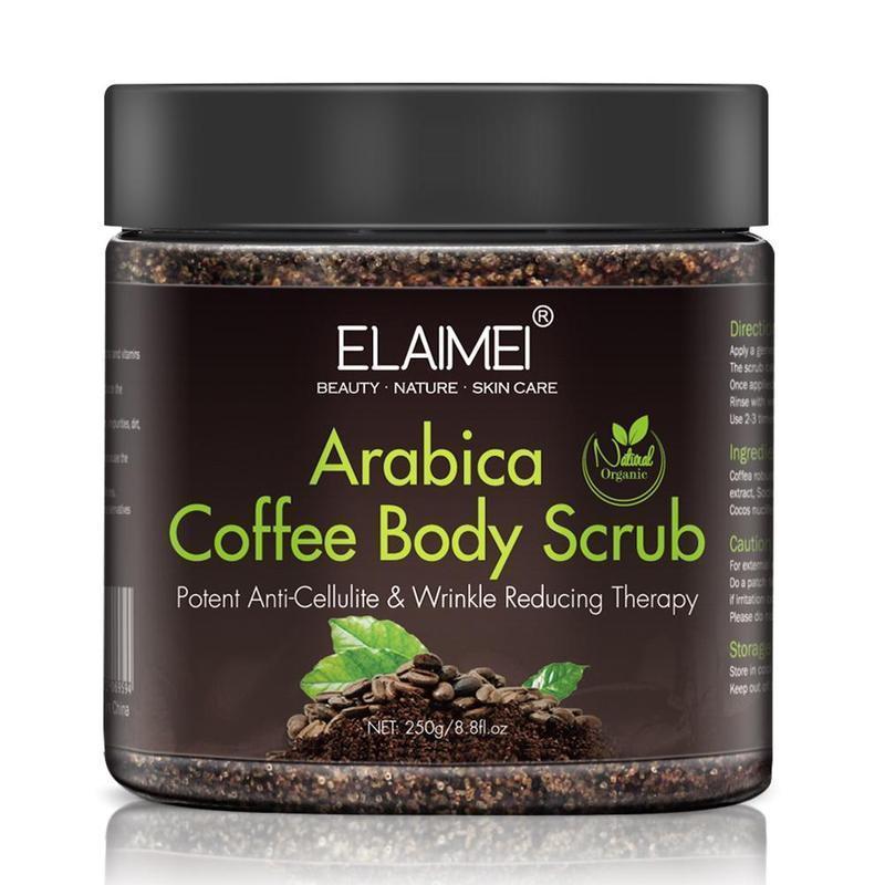 Кофе скраб Крем для тела Крем для лица Мертвое море для отшелушивающего отбеливания Увлажняющие антицеллюлитовые лечения