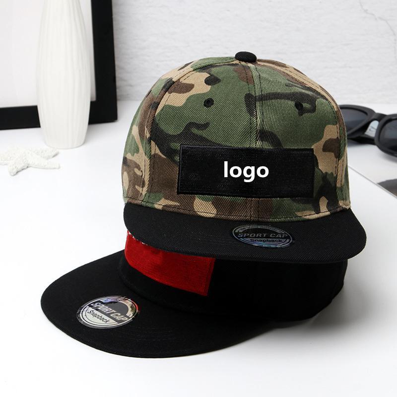 Dört Renk Moda Tasarımcısı Spor Kap Mektup Nakış Kamuflaj Sokak Dans Hip Hop Şapka Erkekler Ve Kadınlar Açık Düz Kenar Beyzbol Şapkası