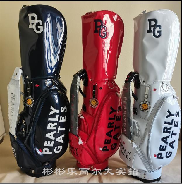 Vendita limitata Carrello di modo Borse da donna Hot Brands Cool Brands da uomo di alta qualità Borse da golf PG New Style Golf Club PU Borsa Unisex