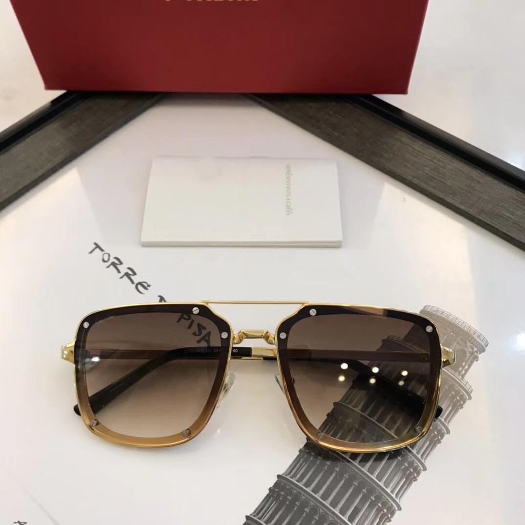 2021 Neue Sonnenbrille Herren Sonnenbrille Klassischer heißer Stil Metallrahmen 0194 UV400 Schutz Outdoor Eyewear Top Qualität mit Original Box