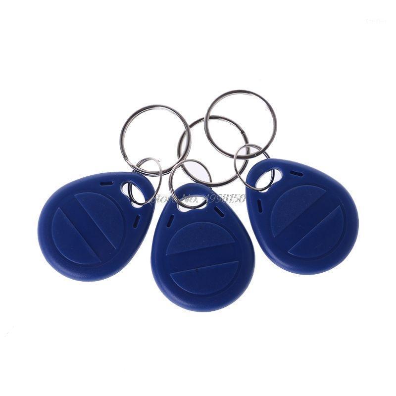 Scheda di controllo Accesso 10 PCS Duplicatore EM4305 T5577 Clone Badge Proximity Badge scriva rewrite Copia 125KHz RFID Tag Sticker Key Fob Token Ring1