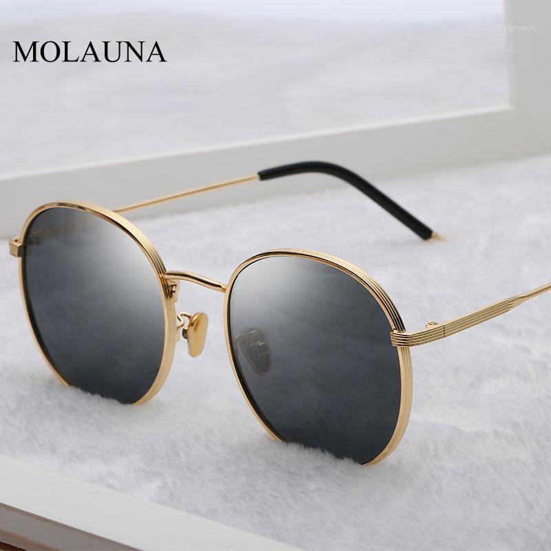 Солнцезащитные очки круглые женщины 2021 ретро дизайнер солнцезащитные очки высокое качество старинные Zonnebril Dames Oculos UV4001