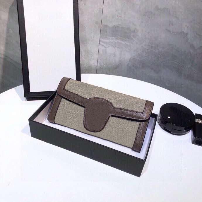 Luxo 3a high-end clássico em forma de coração estampado carteira com caixas senhoras couro genuíno retangular flip carteira saco de embreagem atacado 02