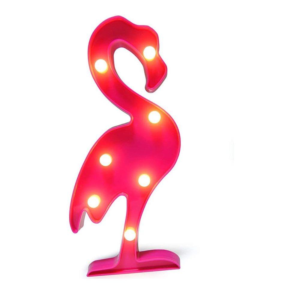 가족 벽 어린이 방 생일 파티에 적합 플라밍고 LED 라이트 크리스마스 트리 나이트 라이트 파인애플 야간 조명 선인장 테이블 램프