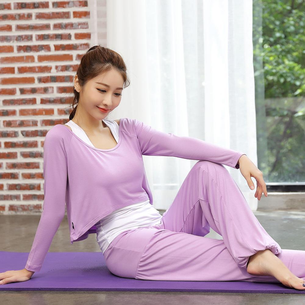 2019 neue 3 stücke Set frauen Anzug Weibliche Gym Fitness Tänzer Kleidung Kleidung Running Trainingsanzüge Sportswear Yoga Sets