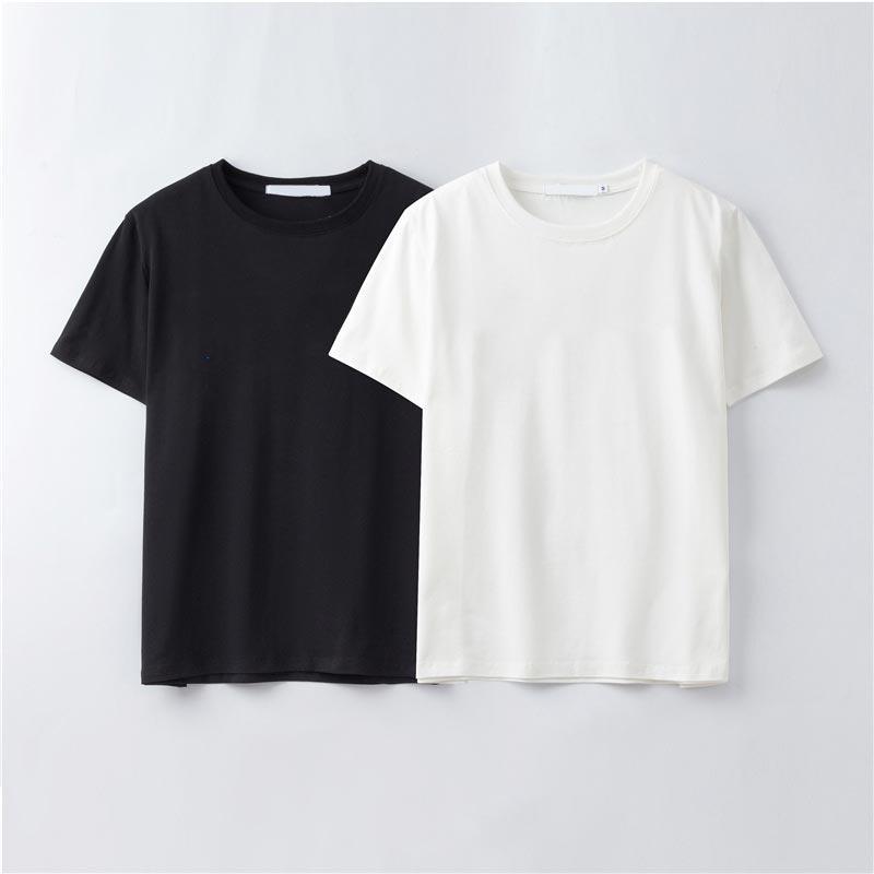 Summer Designer Designer Mens T Shirt casual manica corta in cotone miscelato moda maglietta con marchio lettera ricamo -xfj