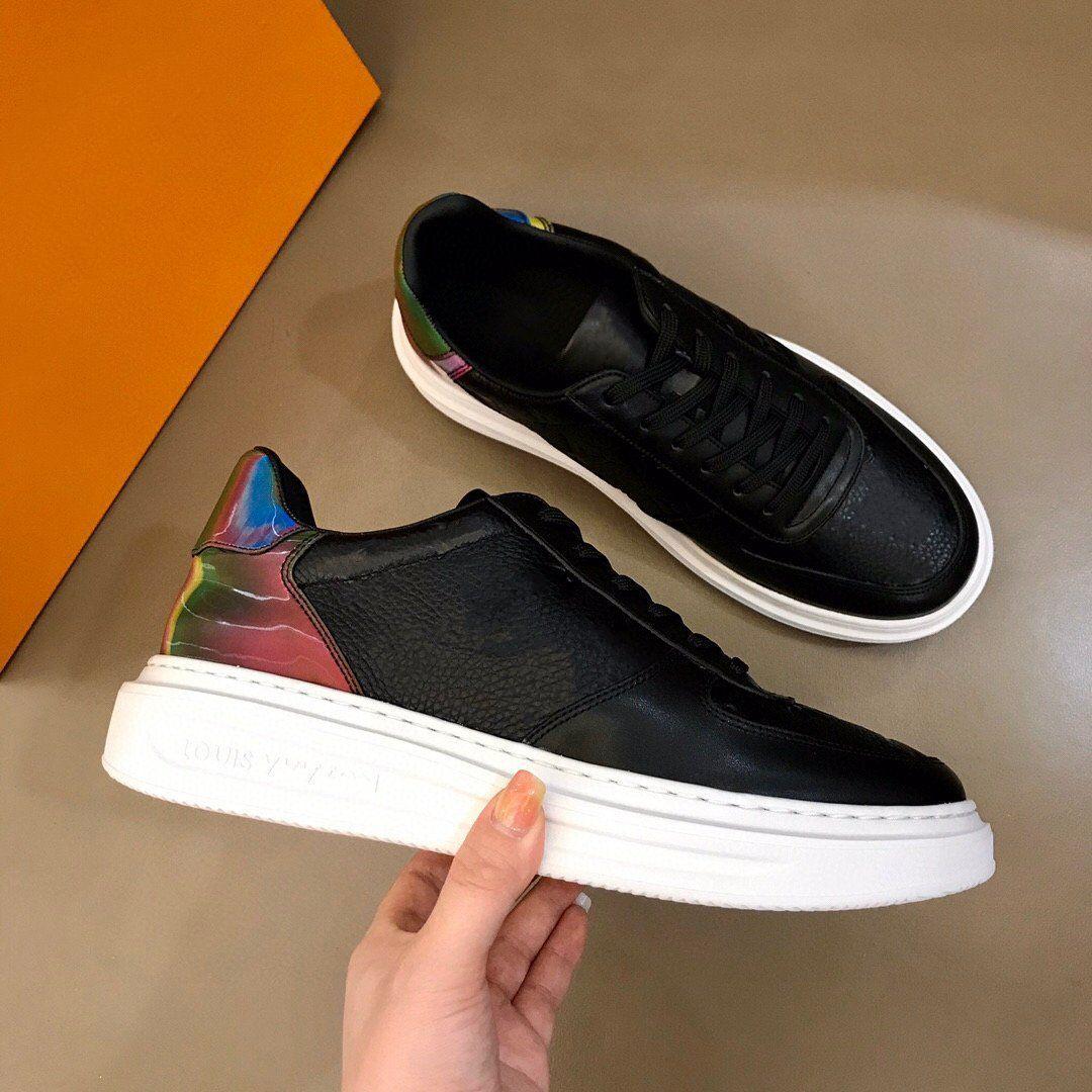 Erkekler ve kadınların gündelik ayakkabıları, yeni high-end 3d buzağı derisi lace-up erkek platformu ayakkabı versiyonu