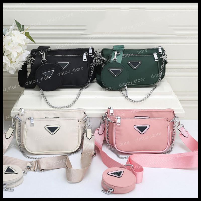2020 heiße solds frauen luxurys designer crossbody taschen umhängetasche handtaschen umhängetasche geldbörsen 3 stücke in 1 geldbörse 2020110301x