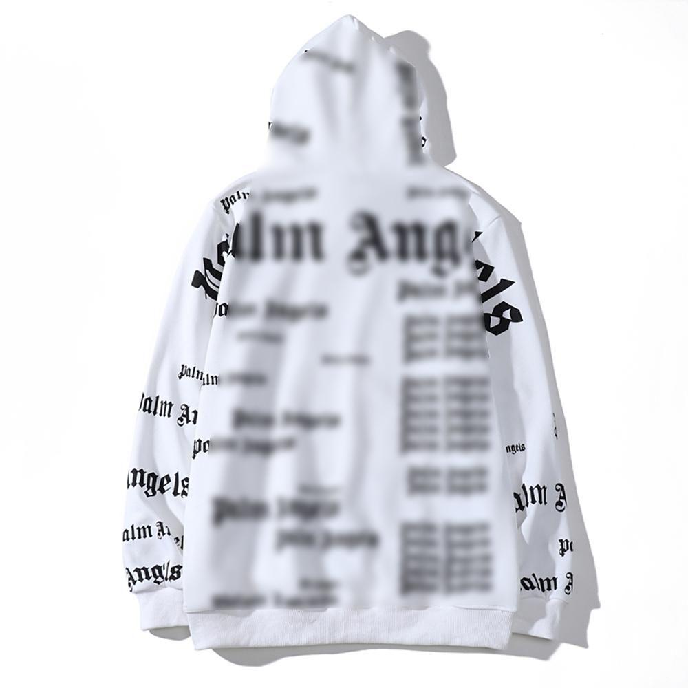 gömlek beyaz tasarımcılar çanta 13 kapalı Toptan Lover PALM Hayvan MELEKLER Desen Kapşonlu Ceket Bay Bayan Casual Hip Hop Pamuk Casual Triko