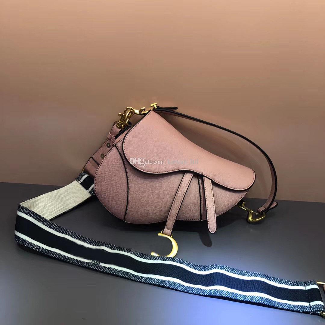 Lujos Bolso letras Bolsas de diseñador Top Genuine Shoulder Cuero Hombro Diseñadores de calidad Dama Bag High con cuero genuino Handba XJPC