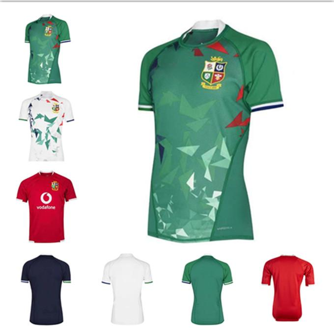 Nuovo 2021 Top Leons Britannici e Irish Lions Rugby International League Jersey Home National Team Lions Lions Camicia da rugby