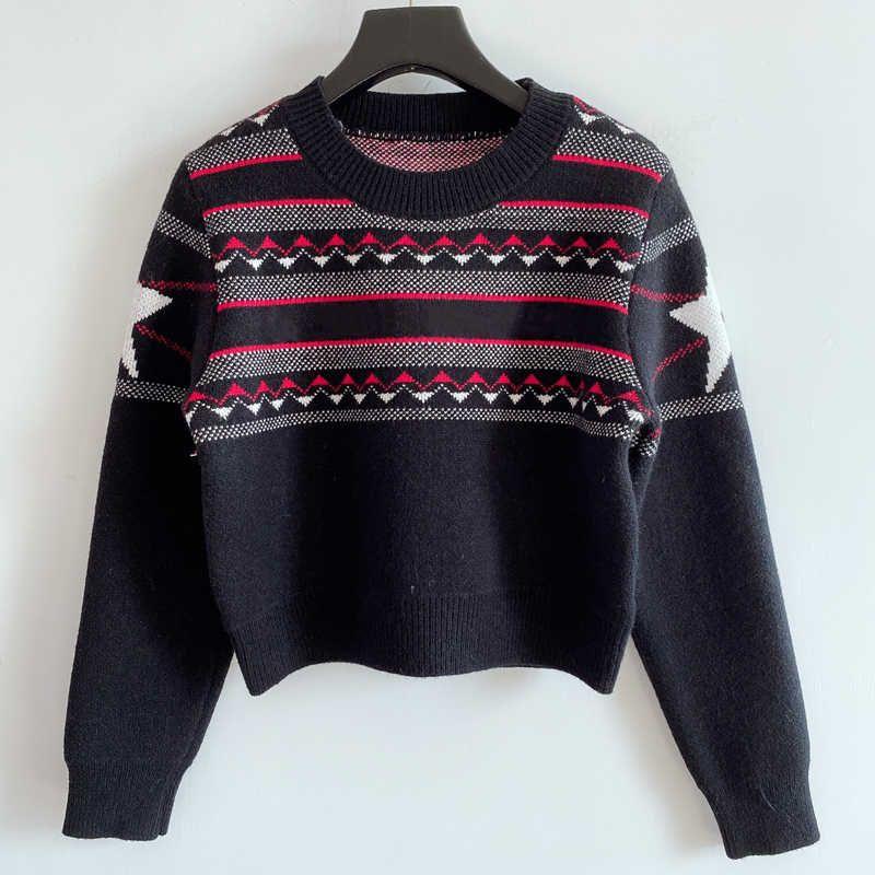 Moda Mujeres Suéteres para Primavera Otoño 2021 Nueva Llegada Para Mujer Streetwear Suéter de alta calidad Casual Ladies Hoodie Wool Mezcla 2 colores