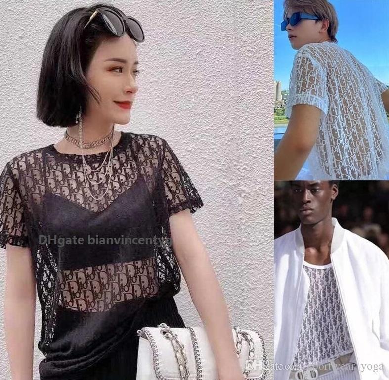 Yeni Moda Bluz Şık fırfır blusas içi boş dışarı mektup gömlek t Gömlek En Streetwear Casual Bayan Gömlek yaka seksi parti durmak womens