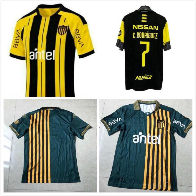 Club Atletico Penarol maillots de football 2019 2020 Penarol Uruguay Lucas Ezequiel Viatri NOUVEAU HOME Fabricio Formiliano shirts de football
