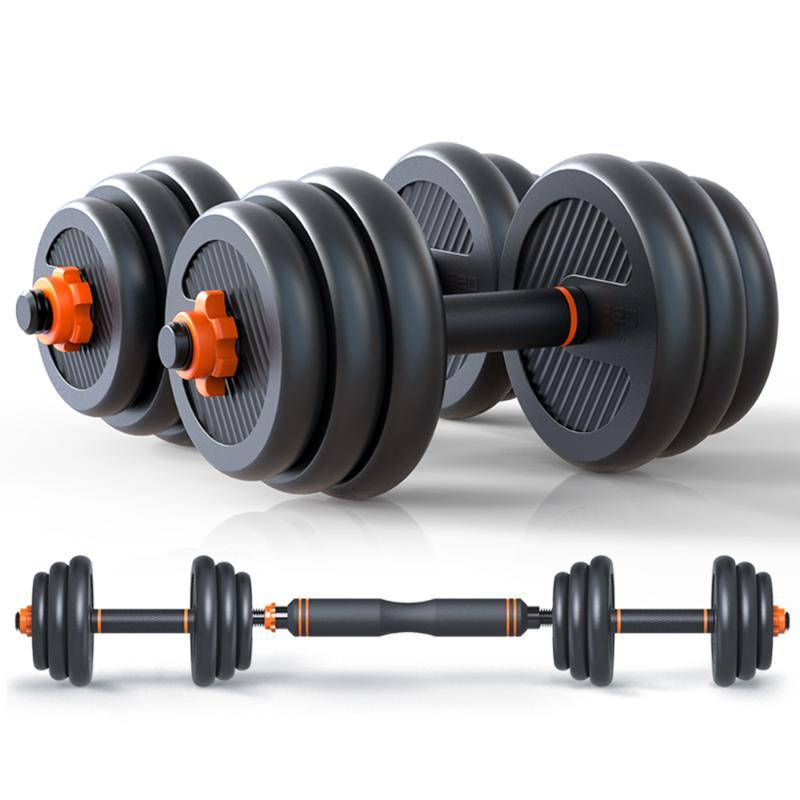 Dumbbells 2021 Adjustable Dumbbell Set 40kg/2PCS Household Fast Automatic High Quality Fitness Equipments
