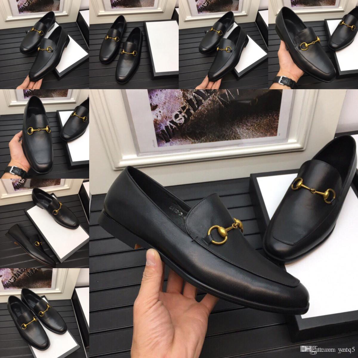 Scarpe in pelle formale Designer Designer Dress Shoe Business Shoe Maschio Geometric Red Oxfords Party Wedding Casual Luxury Men's Flats Chaussure Hom