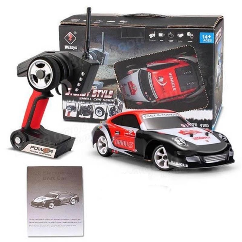WLToys K969 1/28 2.4G 4WD High Speed RC Racing Auto Spielzeug 4 Kanäle 1:28 Gebürstete Drift Fernbedienung Auto Spielzeug Weihnachtsgeschenk 201223