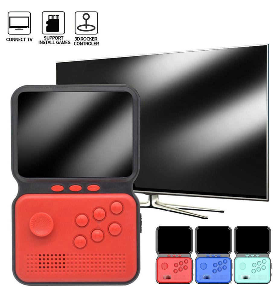 조이스틱 핸드 헬드 게임 콘솔 캔 스토어 990 개 게임 16 비트 게임 플레이어 미니 레트로 비디오 콘솔 게임 휴대용 포켓 게임 박스 PK SUP PXP3