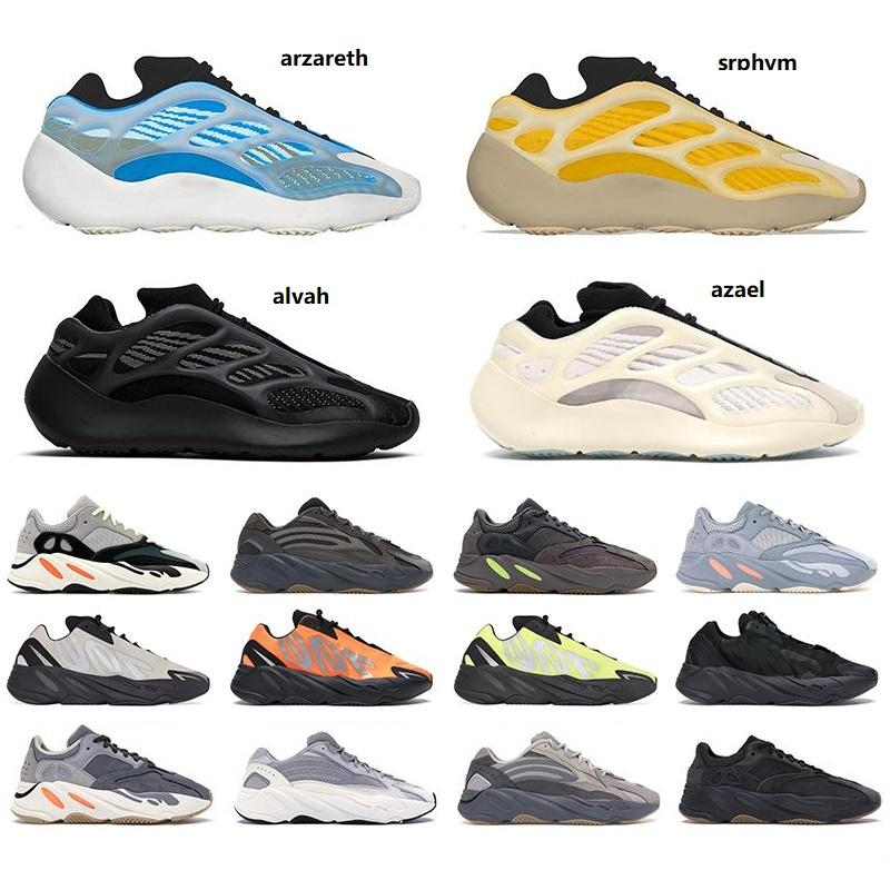 2021 wave runner 700 v1 v2 v3 mnvn men women shoes Safflower Sun Clay Brown Azareth Alvah Azael Bone Inertia sports sneakers trainers