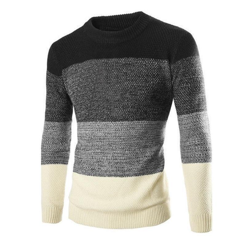Hombres suéter casual otoño invierno cálido suéteres ropa 201124