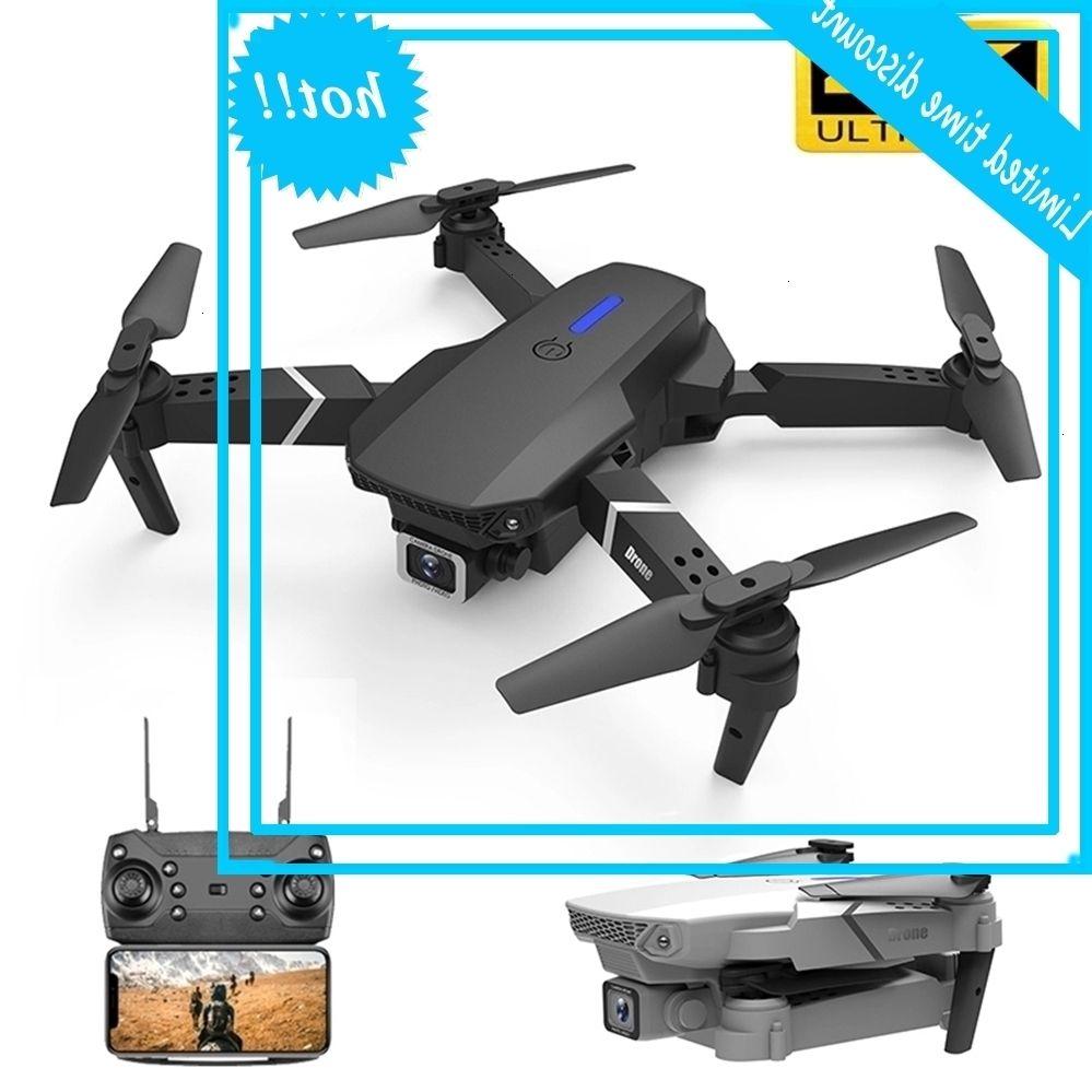 2020 Nuovo E525 4K HD Grand Ducato Dual Dual Camera 1080P WiFi Posizionamento visivo Altezza che tiene drone Seguimi RC Quadcopter Giocattoli