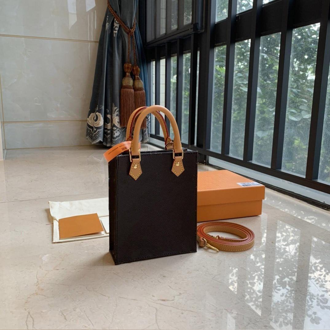 Designer Womens Borse Borse Borse Petit Sac Plat Plaxs Luxury Messenger Bags with Box Genuine Pelle Vecchio Flower Pochettes Moda Crossbody Mini Shoulder Pochette Borsa Borsa