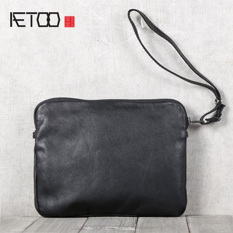 HBP AETOOO Мужские сумки ручной работы ручной работы с плечевой ручной сумкой