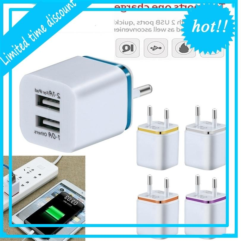 Mobile Fast Charging Dual Body, Adattatore da parete universale Samsung, iPhone, XS, max