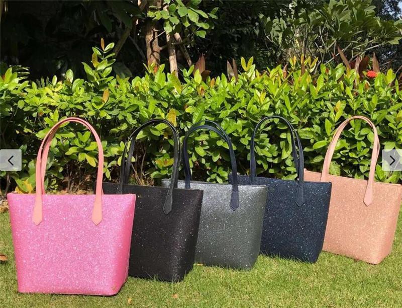 Crossbody Deri Satchel Tote Omuz Luxurys Bayanlar Moda Çanta Büyük Glitter PU Tasarımcılar Çanta D102204 Cüzdan Kadın Çanta QB EDBJ