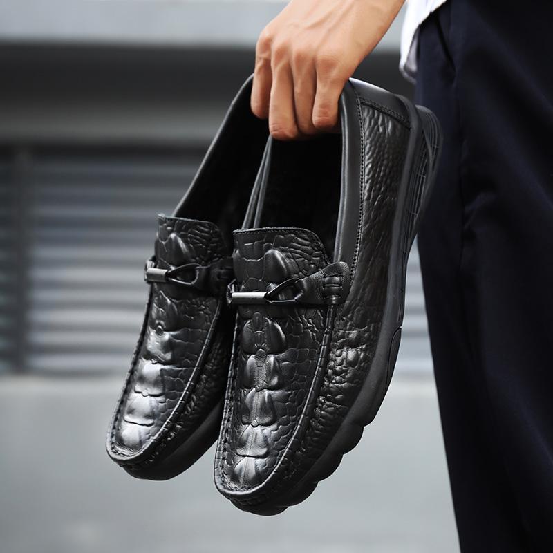 Новая мужская обувь мужская повседневная обувь итальянской Мокасины Мужские мокасины Light поскользнуться на лодке вождения Обувь Мужской Flats