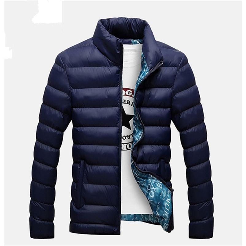 Vestes d'hiver Parka Hommes 2020 Mode automne Warm Windowar Marque Slim Mens manuels Casual Windbreak Vestes Hommes M- LJ201013