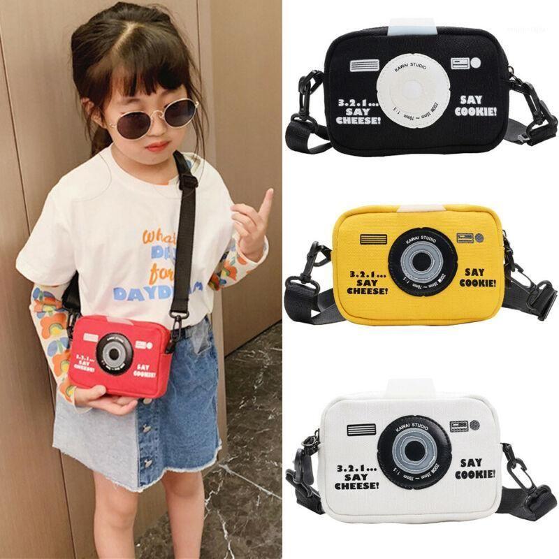 Neue Mode Mädchen Kinder Messenger Bags Leinwand Kamerasack Wilde Münze Geldbörse Mädchen Mini Coole Bags1
