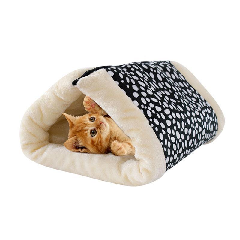 Кровати кошка Мебель Двухместный туннельный коврик Теплый домашний CA кровать моющийся мягкий дом Прекрасные милые подушки продуктов падение