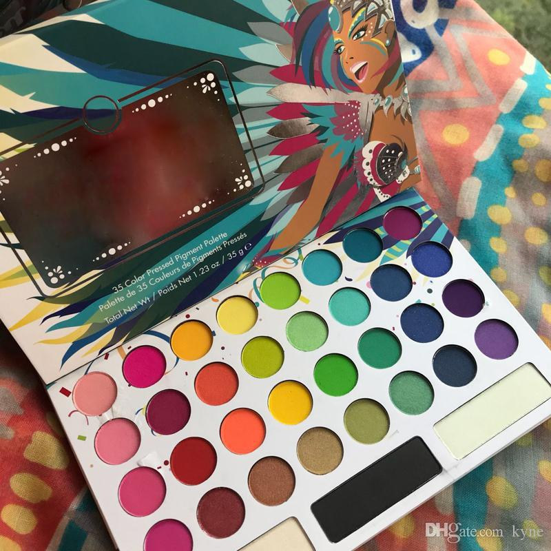 Trucco Eye Shadow 35 Colour Eyeshadow Palette in magazzino Tops Venditore con buona qualità GRATIS DHL