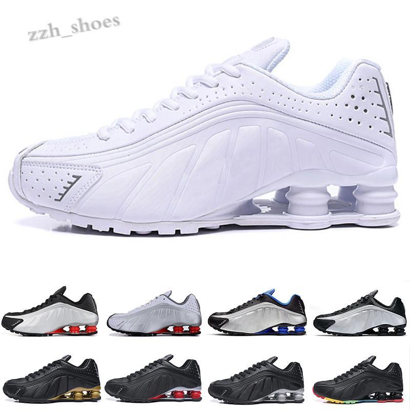 NIKE AIR SHOX R4 301 2020 yeni qiusneaker Erkekler Caddesi 802 Basketbol Ayakkabı NZ OZ R4 Caddesi Sneakers Bize Boyutu 7-11 Ücretsiz Kargo PR06