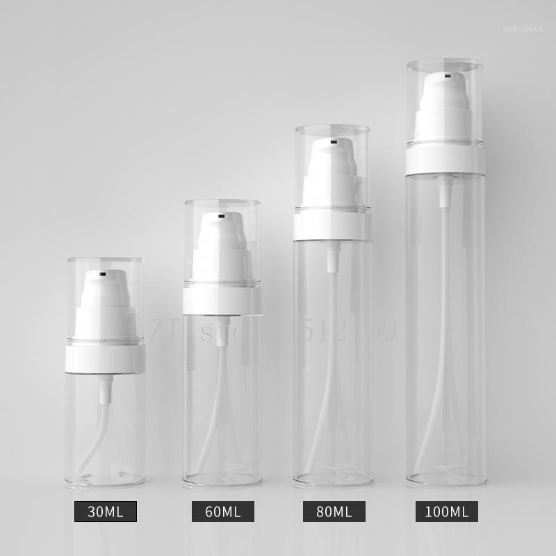 30ml60ml80ml100ml 20 adet / grup Kozmetik EMTPY Temizle Losyon Pump Şişesi, DIY Basın Saklama Kapları, Taşınabilir Yüksek Kalite Paket 1