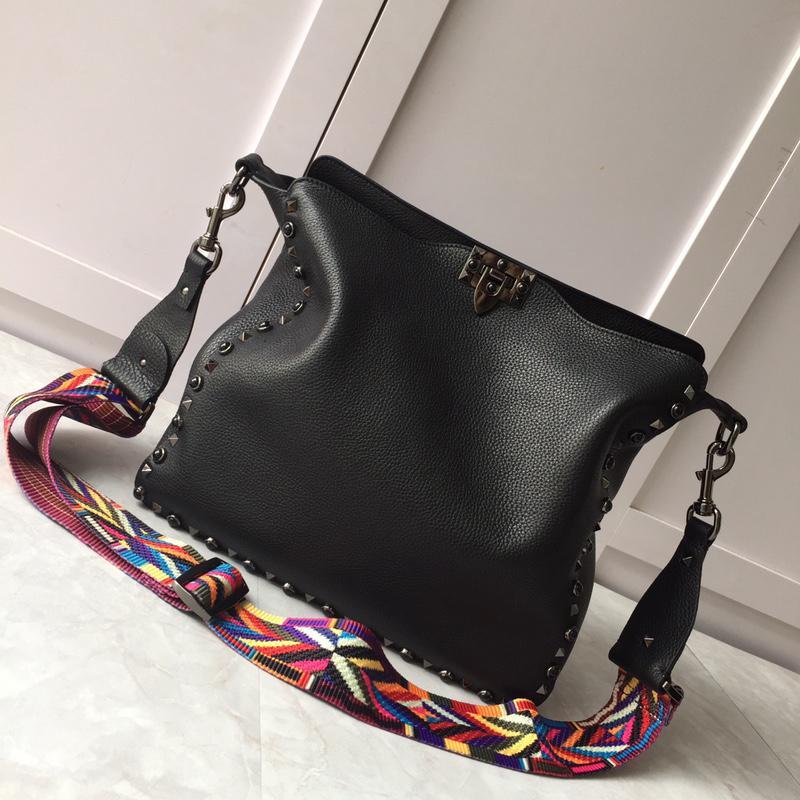 Новый стиль мягкой коровьей с драгоценными камнями Nails 50031 женские сумки Регулируемые плечевые ремень Большая емкость натуральная кожа идеальные модные сумки