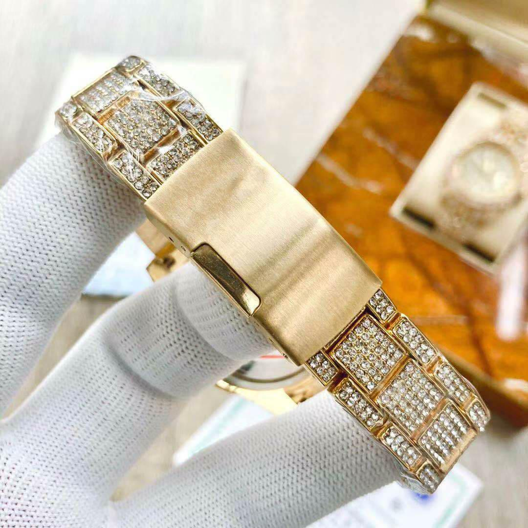 NUEVO 36M Wristwatches Watch Watch Diamond Diamond Battery Calendario completo Wacthes Hot TM Mens Relojes Moda Hqcow