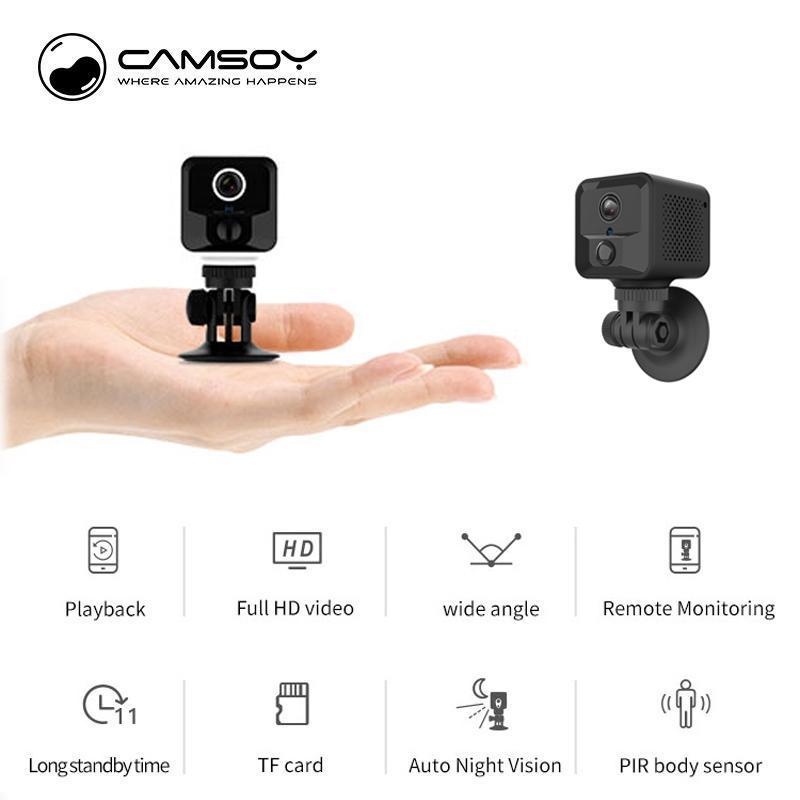 Wi-Fi Micro sans fil Accueil vidéo CCTV Mini Sécurité Surveillance avec Wifi Caméra IP Cam Wi-Fi Camara pour téléphone intérieur IPCamera
