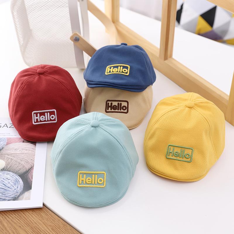 Yeni Bebek Bere Çocuk Cap Bahar Güneş Şapka Karikatür Karakterler Eğlence Kap Açık Güneş Şapka